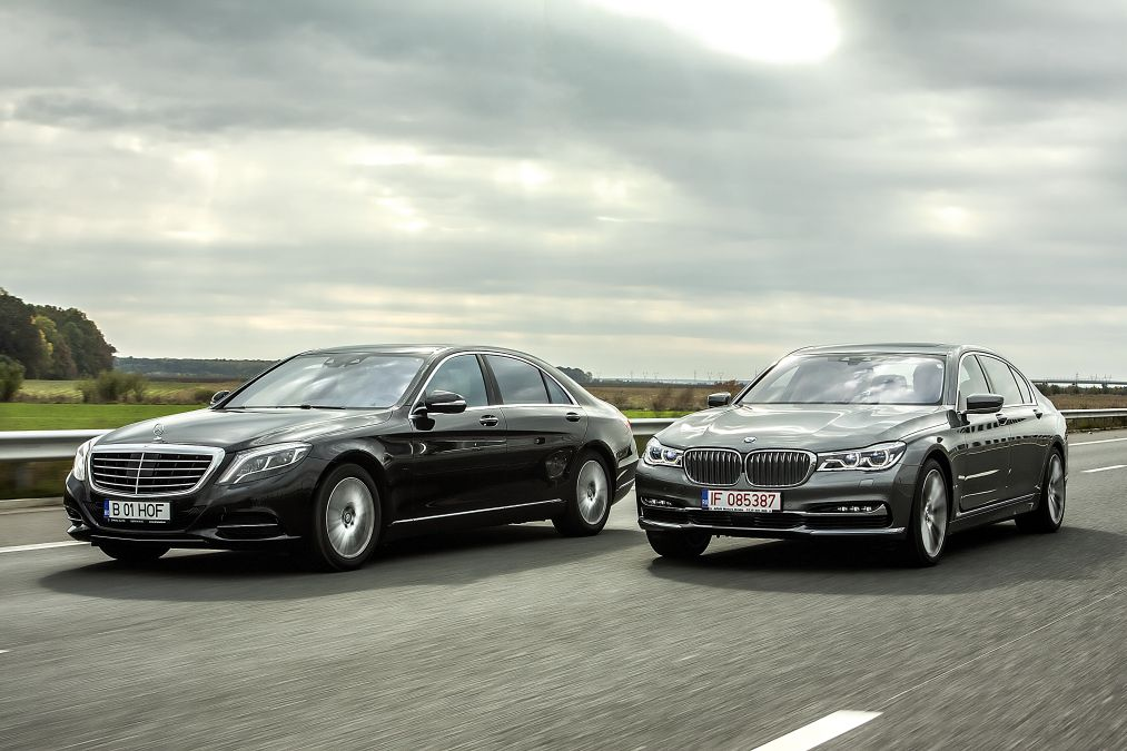 Exclusive First Comparison Test Mercedes Benz S 500 4matic Vs Bmw 750 Li Xdrive