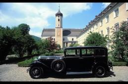 Mercedes-Benz Nurburg 460 – First ever popemobile