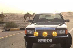 Tackle the desert in a classic – The 1991 Mercedes-Benz 300 SE