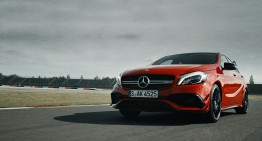 The Dresden roar – Mercedes A 45 AMG 4MATIC