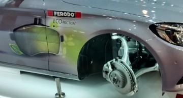 Daimler chooses the innovative Ferodo Eco-Friction brake pads