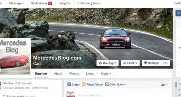 10 000 fans for Mercedesblog on Facebook