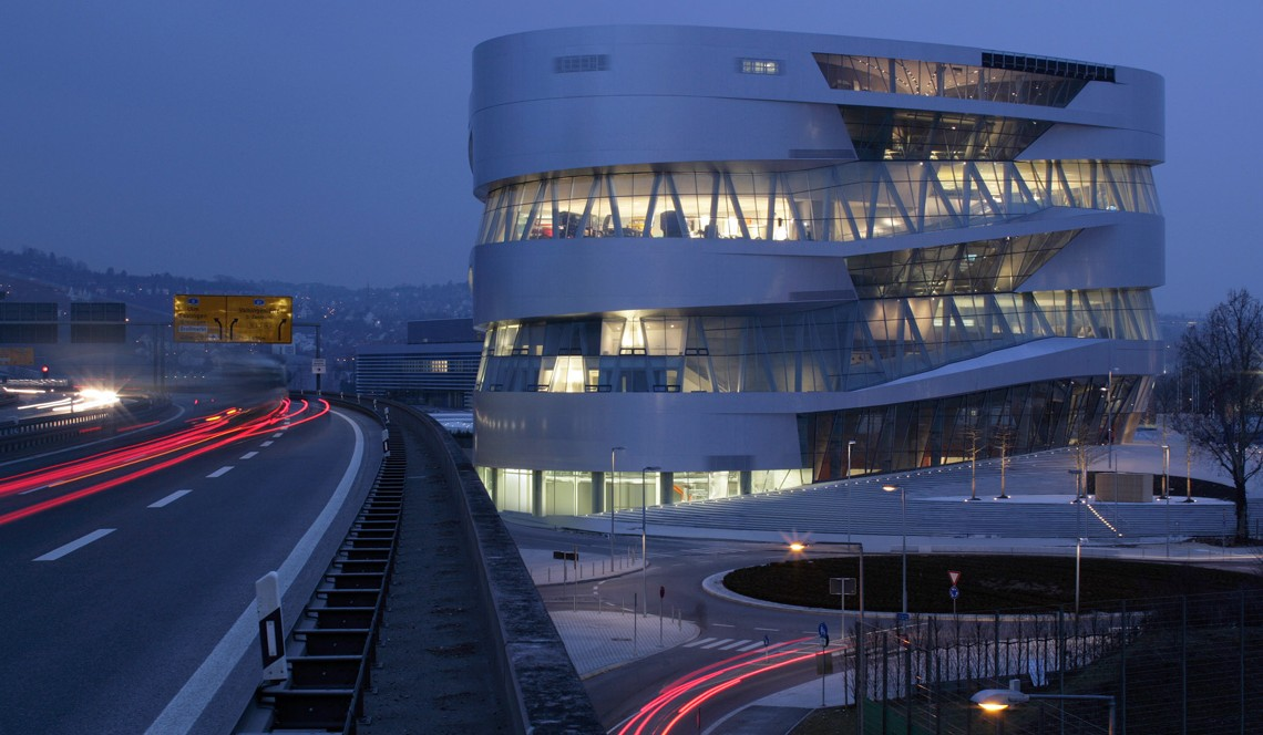 Best sightseeing spot in Stuttgart? The Mercedes-Benz Museum!