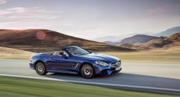 The cabriolet that brings back the summer – the Mercedes-Benz SL facelift