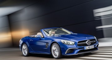 Mercedes SL next generation, under the AMG comand