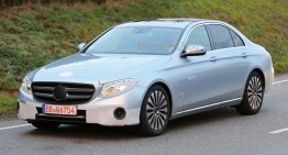 This is it! 2017 Mercedes E-Class revealed, almost camo free