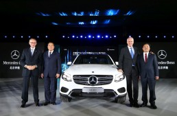 Mercedes-Benz begins GLC production in China