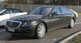 Exclusive: Mercedes-Benz S-Class facelift