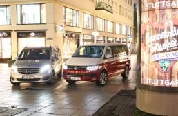 Which is the Bus king? Mercedes V 250 d vs VW Multivan 2.0 TDI comparison by auto und motor und sport