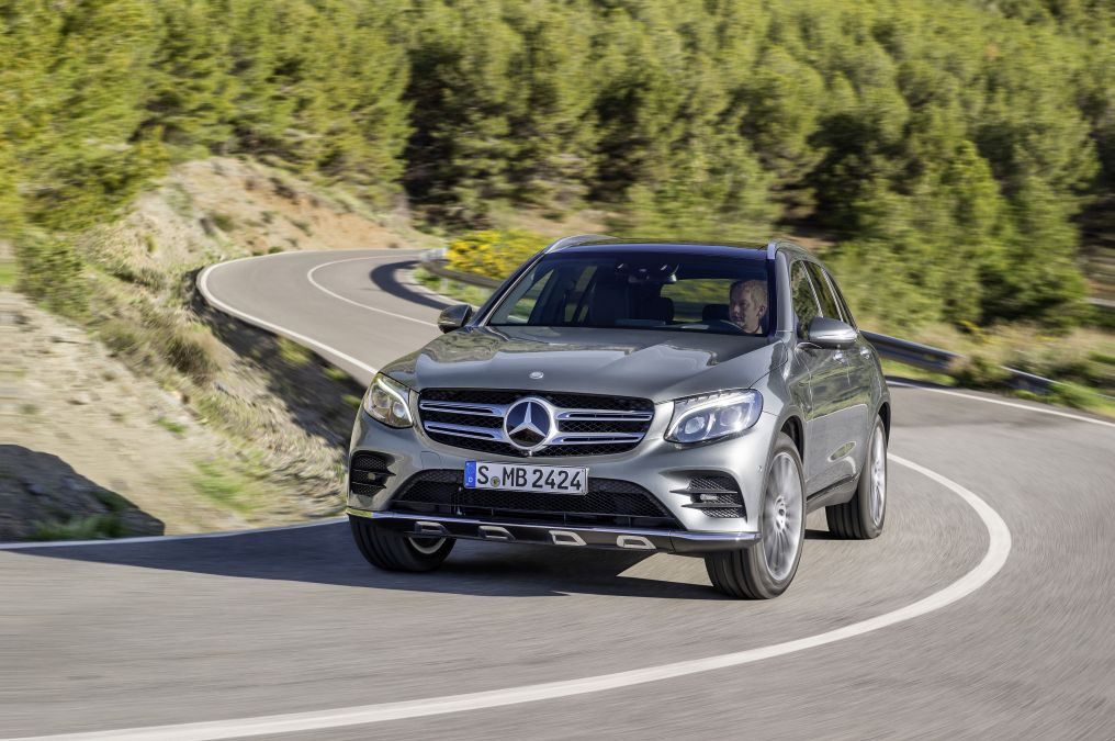 Next Mercedes hydrogen car to be based on the GLC. On sale from 2017