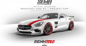 2015 SEMA – The RENNtech AMG GT Project Car ready for Las Vegas!