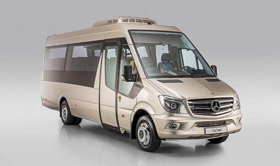 A Mercedes van for every need. TecForum conversions for Sprinter, Vito and Citan
