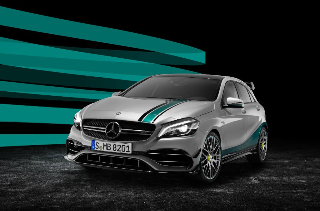 Special edition Mercedes-AMG A 45 celebrates Formula 1 success year