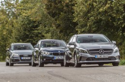 FIRST COMPARISON TEST Mercedes-Benz A 180 versus Audi A3 Sportback 1.4 TFSI, BMW 118i