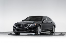 The fortress: First ever bulletproof Mercedes-Maybach S600