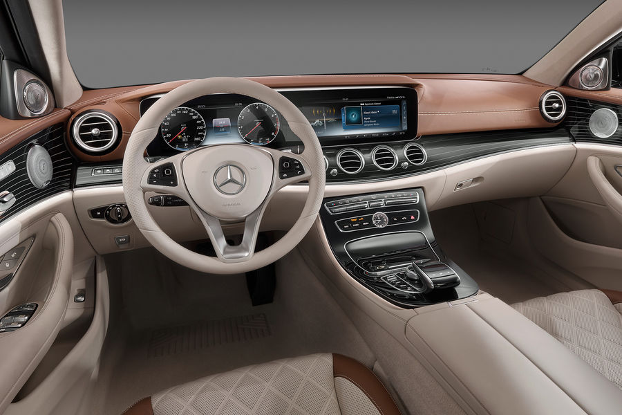 All-new 2016 Mercedes E-Class interior fully revealed (with video)