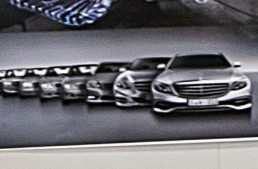 2017 Mercedes E-Class design leaked via official artwork