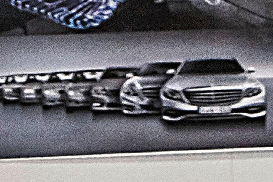 2017 Mercedes E-Class design leaked via official artwork