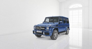 The G gets extra personality. 'Designo manufaktur' gives customizing options for the G-Class