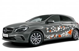 The Mercedes-Benz A-Class is going dance-pop in Japan