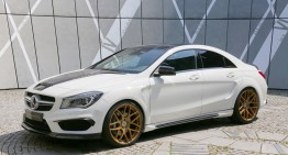 Love it or hate it! The Mercedes-Benz CLA 45 AMG by Loewenstein