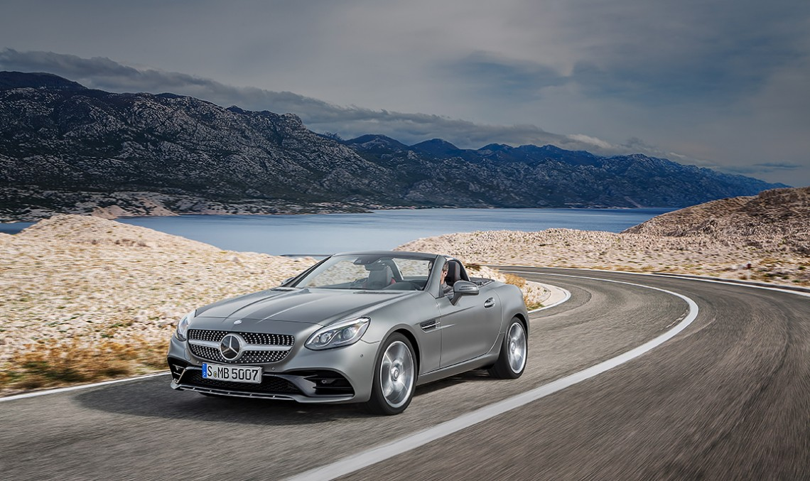 The new 2016 Mercedes-Benz SLC – The roadster built on success. PHOTOS AND VIDEOS