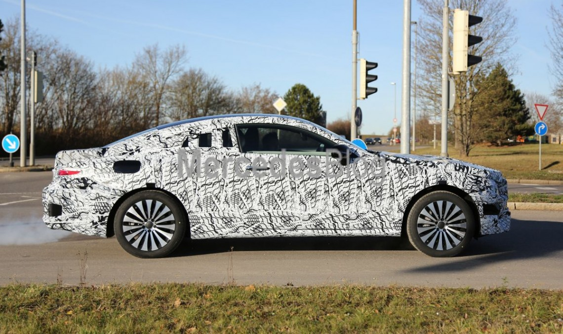 World-first. New 2017 Mercedes E-Class Coupe revealed in first spy pics