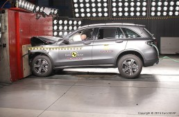 Five stars for the new Mercedes GLC at Euro NCAP (with video)