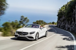 The new Mercedes S-Class Cabriolet starts at 139,051 euros
