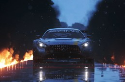 Back on the racetrack – Mercedes supercars on PlayStation 4!
