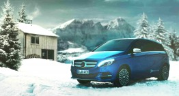 Shhhhh! The Mercedes-Benz B 250 e is coming to town