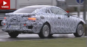 2017 Mercedes-Benz E-Class Coupe caught on tape