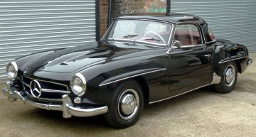 Vintage Mercedes models star at H&H Classics auction