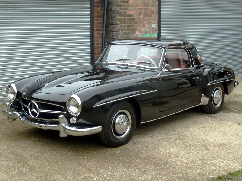 Vintage Mercedes Models Star At HH Classics Auction