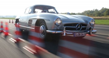 Mercedes 300 SL Gullwing test by Auto Motor und Sport. 60 years old supercar still alive