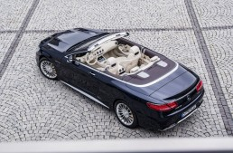 Mercedes unleashes the mighty S 65 AMG Cabriolet with 630 hp
