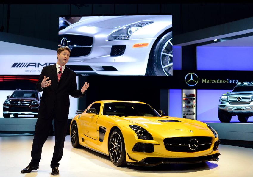 Ola Kallenius, Zetsche's successor for Daimler top job?