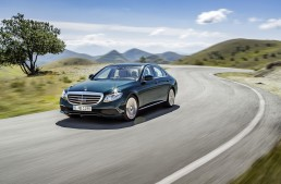 The future starts today – Mercedes-Benz is promoting the new E-Class