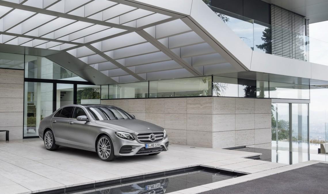 Safest car of 2017? Mercedes-Benz E-Class made it to the shortlist!