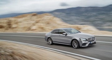 Everything about the 2017 Mercedes E-Class. The most intelligent business saloon (47 pics+video)