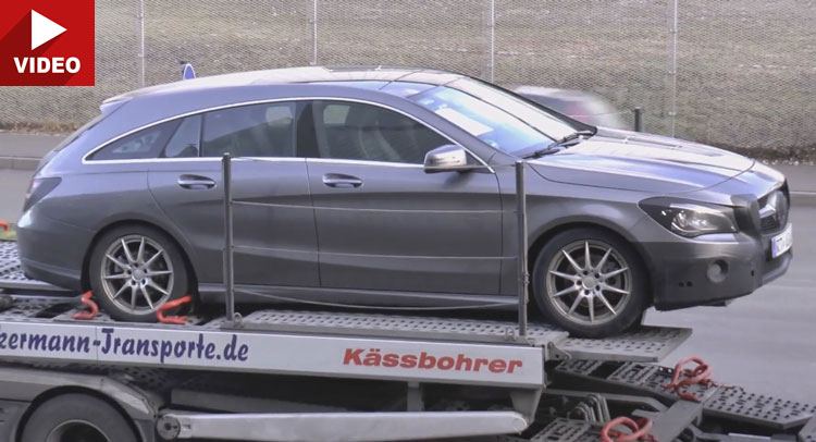 2017 Mercedes CLA Shooting Brake gets a makeover (video)