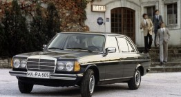 Becoming a classic – The Mercedes-Benz 123 model series turns 40