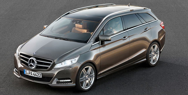 Mercedes R-Class concept preffered against E-Class rival for Audi Allroad
