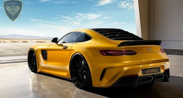 Mercedes-AMG GT by Atarius Concept – This beast is breathing fire!