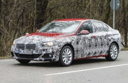 CLA, beware! BMW 1 Series sedan caught testing again