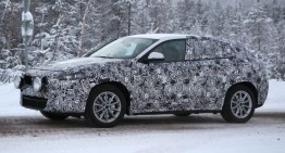 BMW X2 spied one month before the concept will come to Geneva