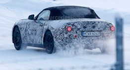BMW Z5 spied. Mercedes SLC rival comes out for winter testing