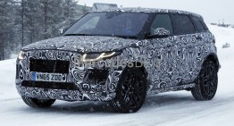 Jaguar E-Pace compact SUV comes out for testing – first pics