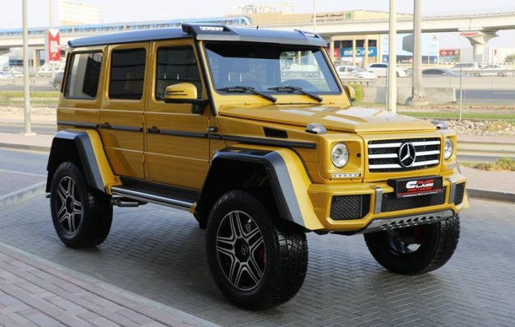 First Mercedes-Benz G500 4×4² arrives in Dubai