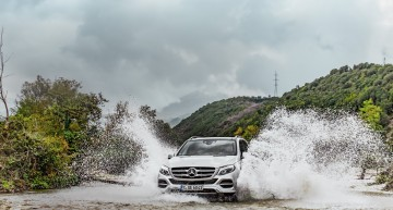 Making the G family proud – The Mercedes-Benz GLE 500 e 4MATIC in the offroad in Albania